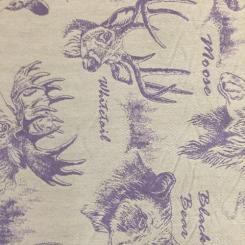 6 1/2 Yards Animal Children  Woven  Fabric
