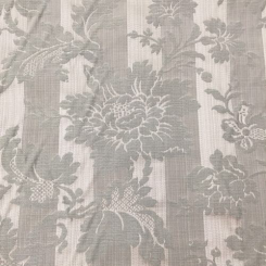 9 Yards Damask Floral  Woven  Fabric