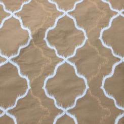 3 Yards Diamond Geometric  Woven  Fabric