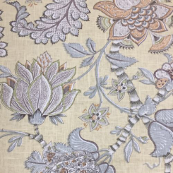 2 Yards Floral  Print  Fabric