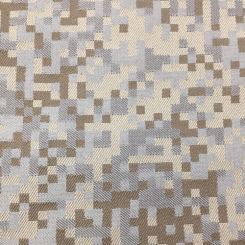 4 1/4 Yards Abstract Geometric  Woven  Fabric