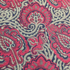 3 1/2 Yards Floral  Chenille Woven  Fabric