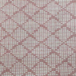 1 1/2 Yards Diamond  Woven  Fabric