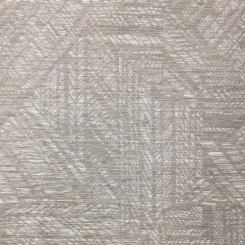 1 1/2 Yards Geometric  Woven  Fabric