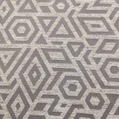 6 3/4 Yards Geometric  Woven  Fabric