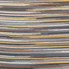3 1/2 Yards Abstract Stripe  Woven  Fabric