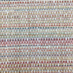 1 1/2 Yards Solid Stripe  Basket Weave  Fabric