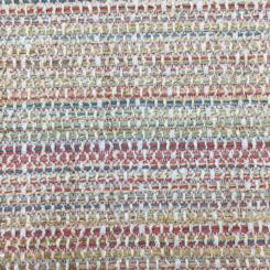 1 1/2 Yards Solid Stripe  Basket Weave  Fabric