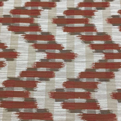 2 Yards Chevron Geometric  Woven  Fabric