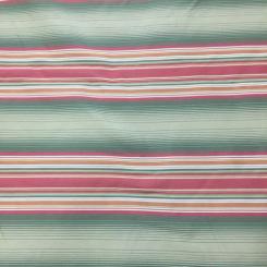 11 Yards Stripe  Satin  Fabric