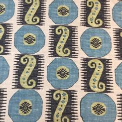 8 1/2 Yards Abstract Geometric  Print  Fabric