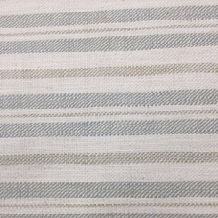 6 Yards Stripe  Woven  Fabric