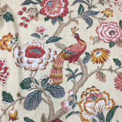 6 3/4 Yards Floral  Print  Fabric