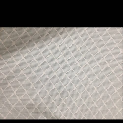 3 1/2 Yards Diamond  Woven  Fabric