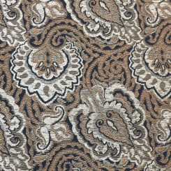 3 1/4 Yards Damask  Chenille  Fabric