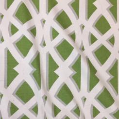9 Yards Abstract Geometric  Basket Weave  Fabric