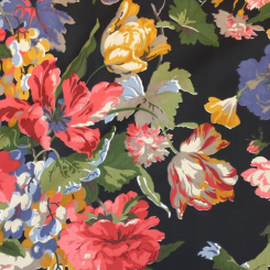 14 3/4 Yards Floral  Print  Fabric
