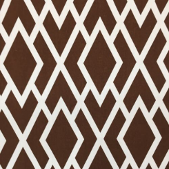 20 1/2 Yards Diamond Geometric  Print  Fabric