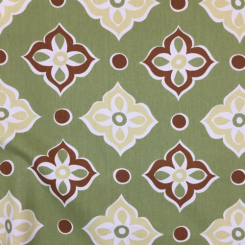 1 1/4 Yards Diamond Novelty  Print  Fabric