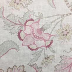 6 Yards Animal Floral  Print  Fabric
