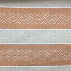 3 Yards Geometric Stripe  Woven  Fabric