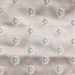 1 1/2 Yards Floral Novelty  Satin  Fabric