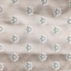 1 1/2 Yards Floral Novelty  Satin  Fabric
