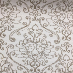 3 1/4 Yards Damask  Outdoor Woven  Fabric