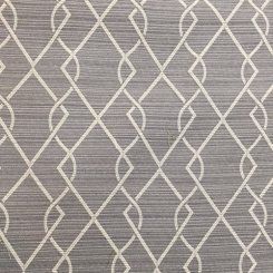 2 1/2 Yards Abstract Diamond  Woven  Fabric
