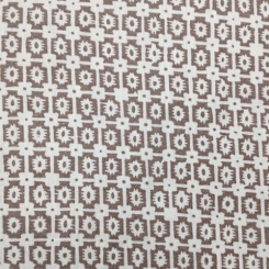 7 Yards Geometric Novelty  Print  Fabric