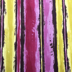 2 1/4 Yards Abstract Stripe  Faux Suede  Fabric
