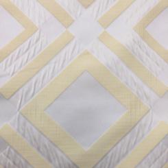 4 3/4 Yards Abstract Diamond  Satin  Fabric