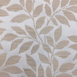 4 1/2 Yards Floral Nature  Ribbed Satin  Fabric