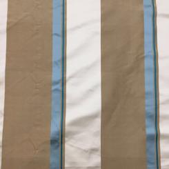 1 3/4 Yards Stripe  Satin  Fabric