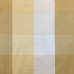1 1/2 Yards Plaid/Check  Satin  Fabric