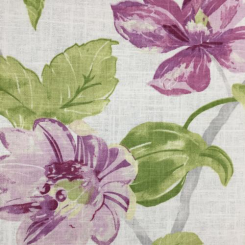 4 1/4 Yards Floral Nature  Print  Fabric