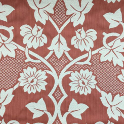 10 3/4 Yards Floral  Embroidered  Fabric