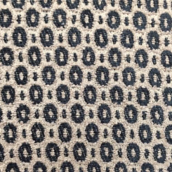 4 1/2 Yards Geometric Polka Dots  Chenille  Fabric