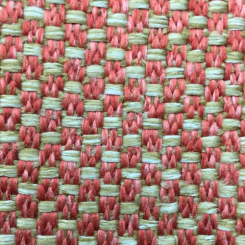 1 3/4 Yards Plaid/Check  Basket Weave  Fabric