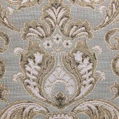 2 Yards Damask  Woven  Fabric