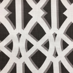 1 Yard Abstract Diamond  Basket Weave  Fabric