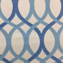3 1/4 Yards Abstract Geometric  Woven  Fabric