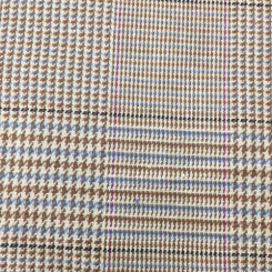 8 1/2 Yards Houndstooth Plaid/Check  Woven  Fabric