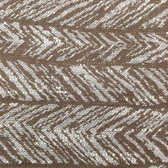 3 1/4 Yards Abstract Stripe  Woven  Fabric