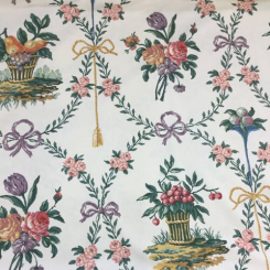 "10  1/2 Yards Clarence House ""Paniers Fleurs"""