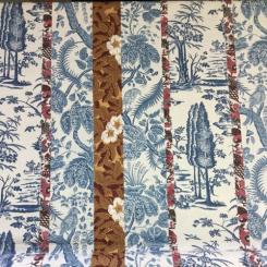 "9  1/2 Yards Travers & Co. ""Cramwell Toile"""