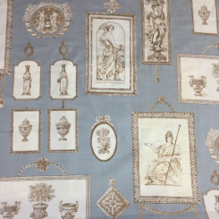"24 Yards Stroheim & Roman inc. ""Neoclassical Print room"""
