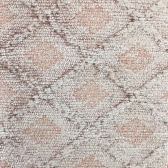 4 Yards Abstract Diamond  Chenille  Fabric