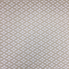 3 1/2 Yards Diamond Geometric  Ribbed  Fabric