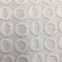 3 1/2 Yards Geometric Solid  Ribbed  Fabric